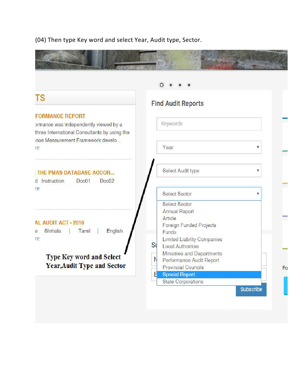 How to find Audit Report 2